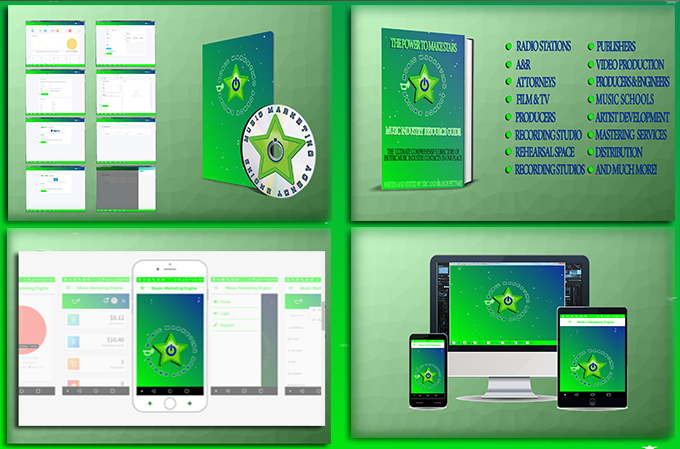 Music Marketing Engine The only music marketing software with the power to make stars!